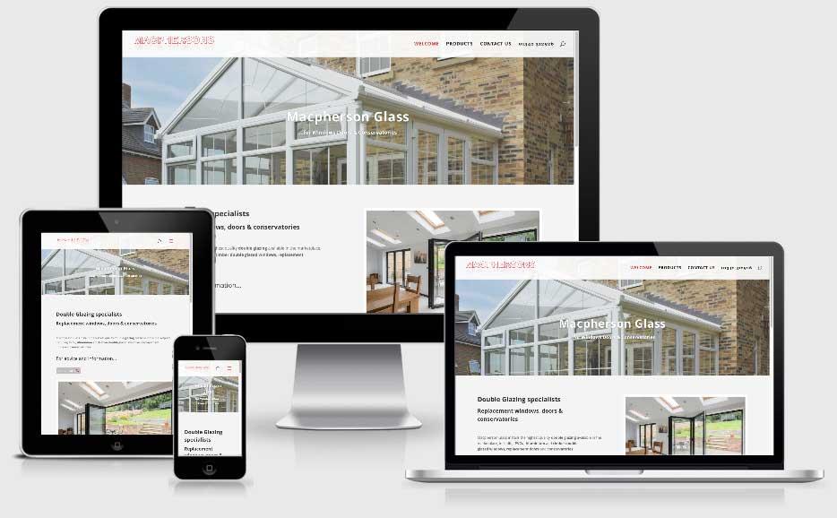 Macpherson glass website